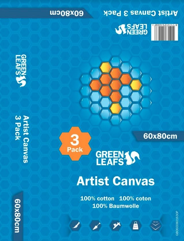 Green-Leaves-Canvas-19mm-3-Packs