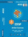 katoenen canvas schildersdoeken 60x80 3 pack