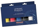 Lefranc Bourgeois Acryl Verf Set 5x80ml_