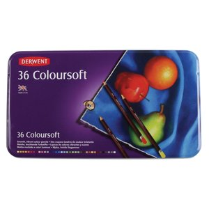 Derwent 36 Coloursoft potloden