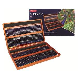 Inktense Woodbox Derwent 72-Delig