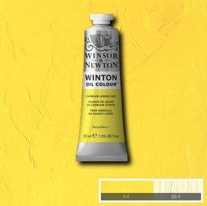 Winton 37ML 087 Cadmium Lemon Hue 7