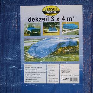Afdekzeil-Grondzeil-Dekzeil-Tentzeil 3x4 meter overal voor te gebruiken