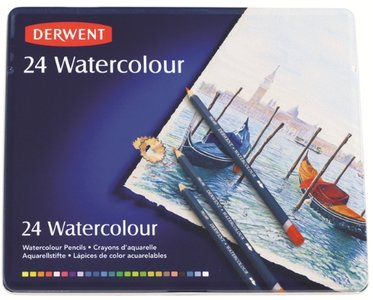 Derwent 24 Watercolour potloden