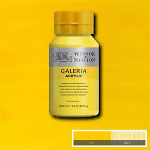 Galeria 120 Acrylverf Cadmium Yellow Medium Hue 500ml