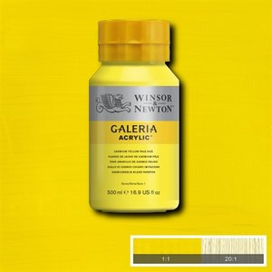 Galeria 114 Acrylverf Cadmium Yellow Pale Hue 500ml