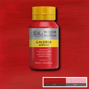 Galeria 095 Acrylverf Cadmium Red 500ml