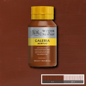 Galeria 077 Acrylverf Burnt Sienna Opaque 500ml