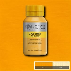Galeria 115 Acrylverf Cadmium Yellow Deep Hue 500ml