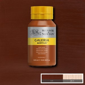 Galeria 074 Acrylverf Burnt Sienna 500ml