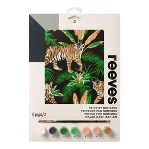 Schilderen op nummer Tiger