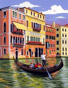 Schilderen op nummer Venetie