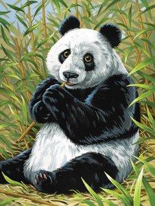 Schilderen op nummer Panda