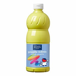 L&B Plakkaatverf Redimix Lemon Yellow 1L