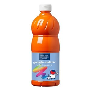 L&B Plakkaatverf Redimix Brilliant Orange 1L