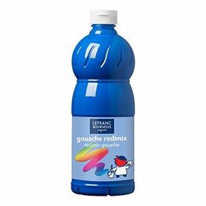 L&B Plakkaatverf Redimix Cyan Primary Blue 500ml