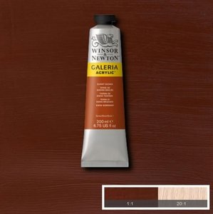 Galeria 120ml 074 Acrylverf Burnt Sienna