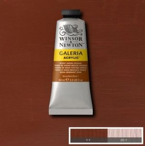Galeria 120ml 077 Acrylverf Burnt Sienna Opaque