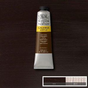 Galeria 120ml 076 Acrylverf Burnt Umber