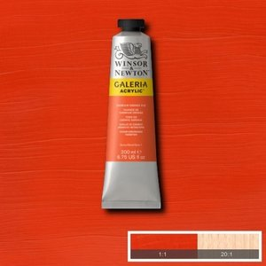 Galeria 120ml 090 Acrylverf Cadmium orange