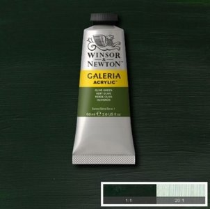 Galeria 120ml 447 Acrylverf Olive Green