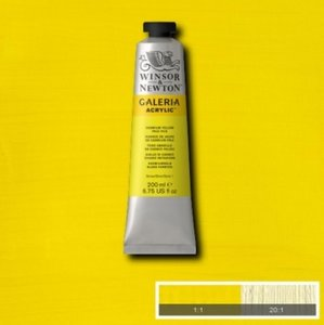Galeria 120ml 114 Acrylverf Cadmium Yellow Pale Hue