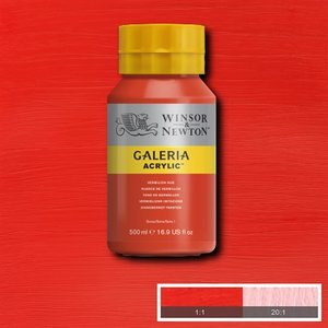 Galeria 682 Acrylverf Vermilion Hue 500ml