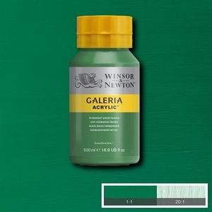 Galeria 484 Acrylverf Permanent Green Middle 500ml