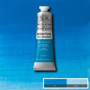 Winton 37ML 138 Cerulean Blue Hue 10
