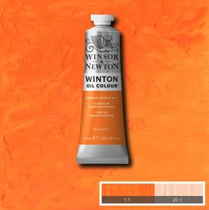 Winton 37ML 090 Cadmium Orange Hue 4