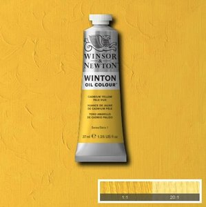 Winton 37ML 119 Cadmium Yellow Pale Hue 8