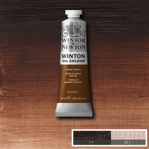 Winton 200ML 076 Burnt Umber 3