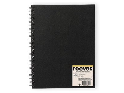 Reeves Sketchbook Spiral 96 Gram A4 80P