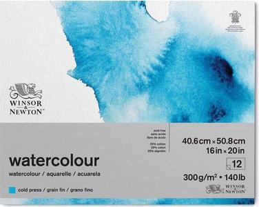 Winsor & Newton Watercolour 27.9cm x 35.6cm Gelijmd