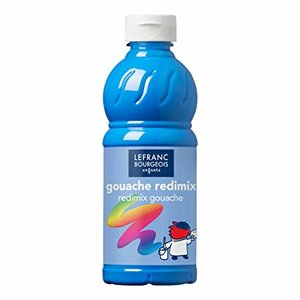 L&B Plakkaatverf Redimix Fluorescent Blue 500ml