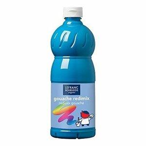 L&B Plakkaatverf Redimix Turquoise Blue 1L