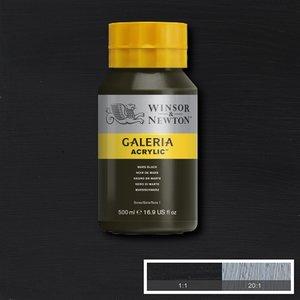Galeria 386 Acrylverf Mars Black 500ml