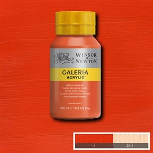Galeria 090 Acrylverf Cadmium Orange 500ml