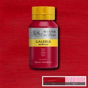 Galeria 203 Acrylverf Crimson 500ml