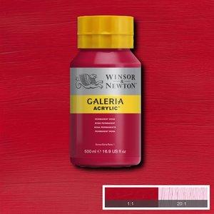 Galeria 502 Acrylverf Permanent Rose 500ml