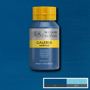 Galeria 232 Acrylverf Deep Turquoise 500ml