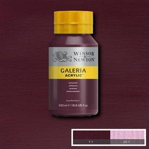 Galeria 075 Acrylverf Burgundy 500ml