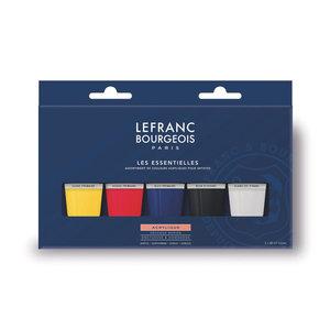 Lefranc Bourgeois Acryl Verf Set 5x80ml