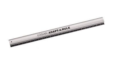 Logan Adapt-A -Rule Liniaal 100cm