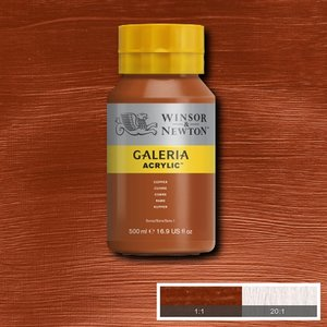 Galeria 214 Acrylverf Copper 500ml