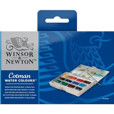 Cotman Whole Pan Painting Box Set