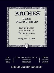 Arches drawing Dessin Extra Blanc