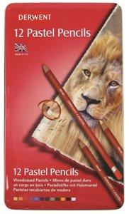 Derwent 12 Pastel potloden