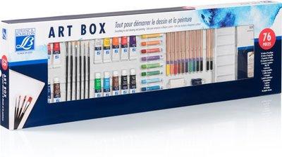Lefranc & Bourgeois Art Box 76-Delig